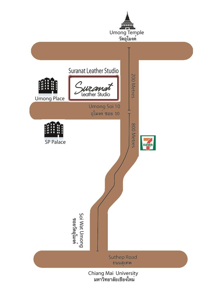 Suranat Leather Studio's map